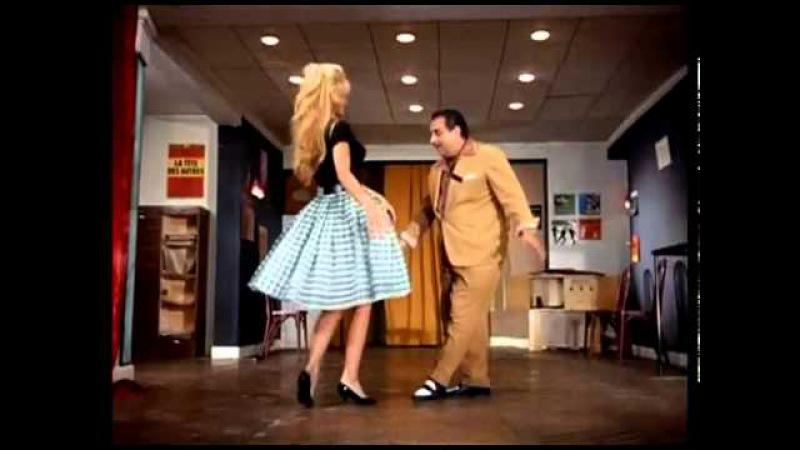 Бриджит Бардо танцует мамбо