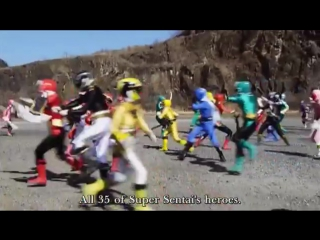 Gokaiger Goseiger Super Sentai 199 Hero Great Battle trailer (eng subs)