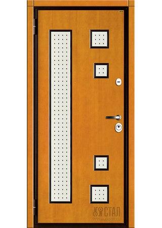 сколько ширина железных дверей