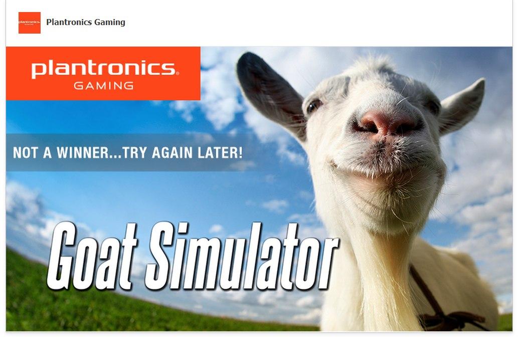 Goat Simulator Free Steam Key