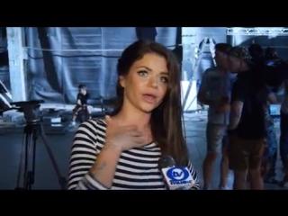 Съемки клипа: Бьянка & Потап и Настя - Стиль собачки / O-TV UA
