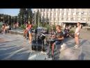 Славянск. Танцы на площади Барабанщик. 29.08.2015.