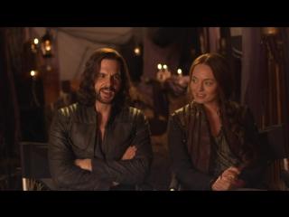 Интервью: Лора Хэддок и Том Райли о третьем сезоне «Демонов да Винчи» (часть 1)