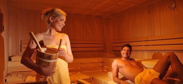 в бане любовь фото