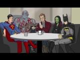 Я Бэтмен! vs Я есть Грут)))