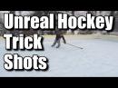 Unreal Hockey Trick shots
