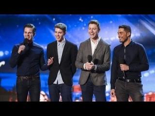 Britain's Got Talent S08E04 Jack Pack Big Band Boy Band Sing Frank Sinatra's