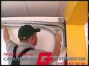 Установка гаражных секционных ворот своими руками