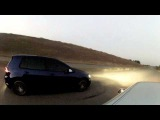 Audi S3 1.8T  vs Golf R 7 revo st1