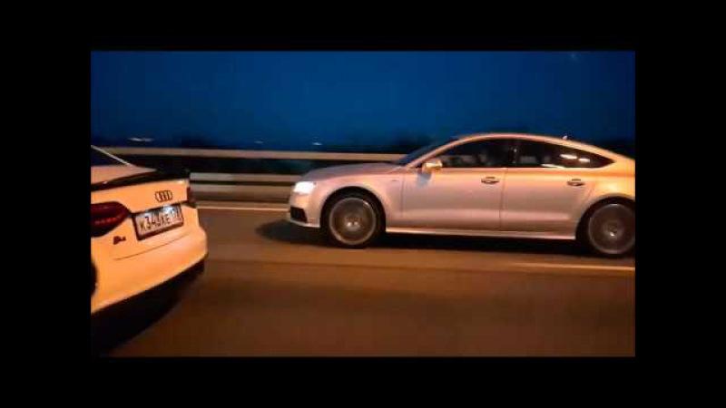 BMW M135 vs Audi A7 vs Audi S4