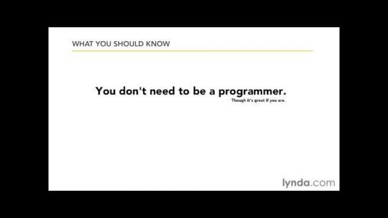 JavaScript(JS-Lynda.com) 00-2. Требуемые знания