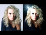 Урок_25_Adobe Photoshop CS5_PART_3!!! Как правильно удалить светлый фон и вставить черный!!!