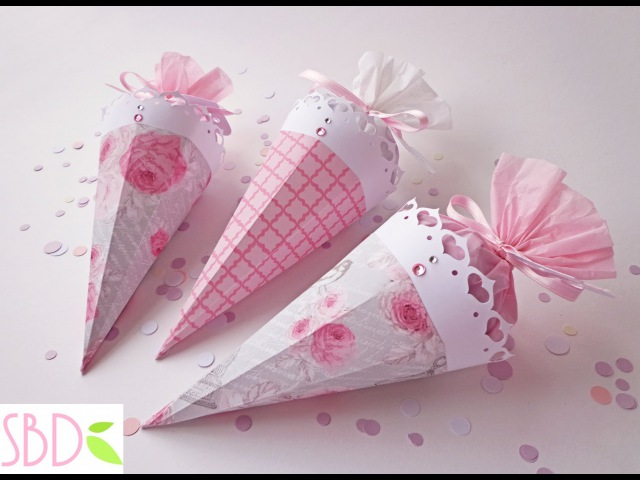 Matrimonio: Coni porta riso/coriandoli - Wedding: Confetti holder cones