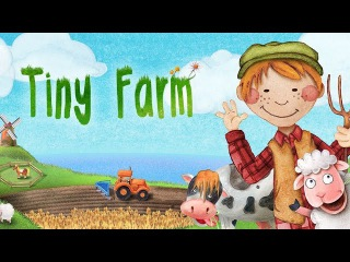 Маленькая ферма - Животные, тракторы и приключения! (развивающий мультфильм-игра для малышей)