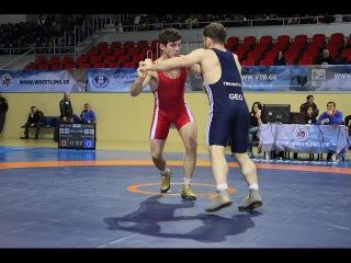 Zurabi Datunashvili - Manuchat Tskhadaia 1/2 Final GR - 75 kg Georgian Championship 2016 Tbilisi