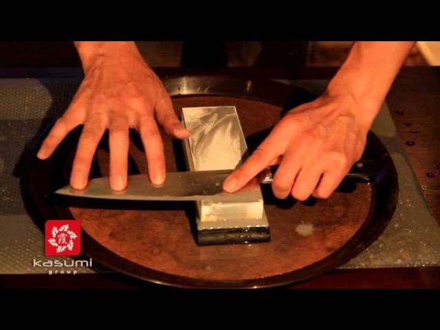 Заточка японских ножей мастер класс /Sharpening Japanese knives master class