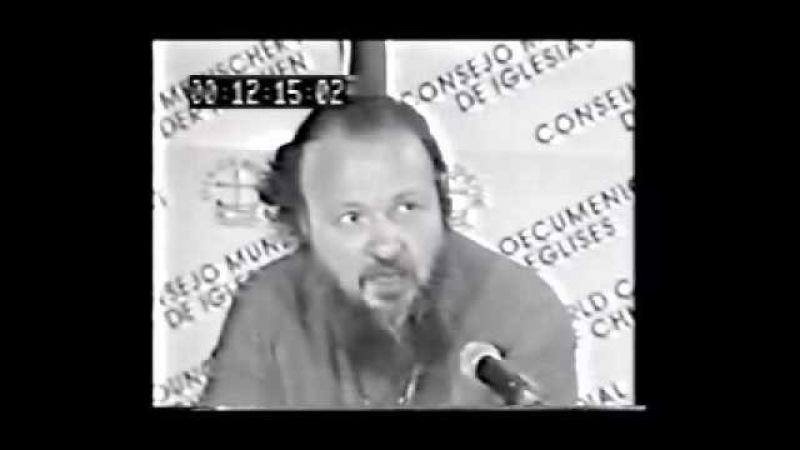 Кирилл Гундяев об экуменизме. (Без комментариев)