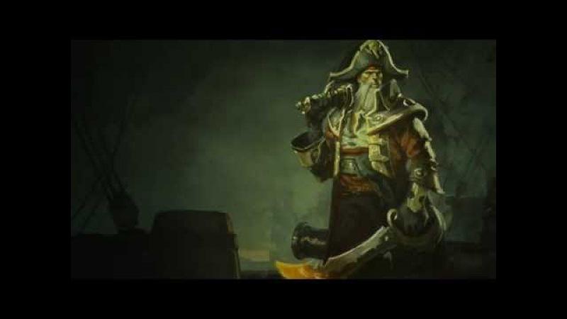 Gangplank, the Saltwater Scourge   Login Screen - League of Legends