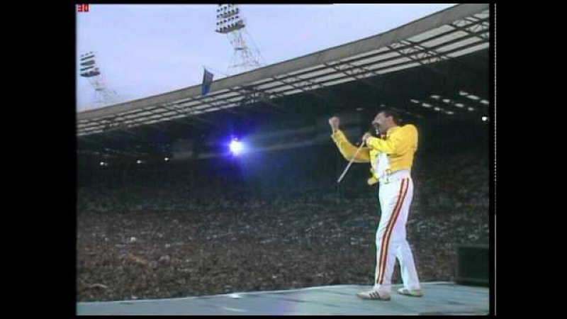 Amazing Freddie Mercury: Fuck You! (high quality)