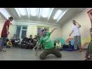 Roman Glazunov (Vologda) VS Sasha Baranova (Cherepovec) Hip-Hop • Dream Team Battle 14