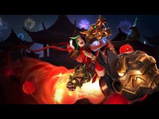 Lunar Login Theme 2015 - League of Legends