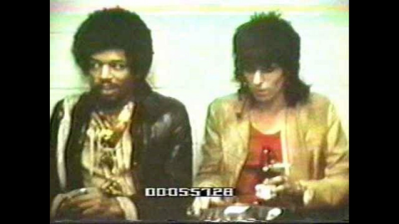 Jimi Hendrix with the Rolling Stones Rocks Off Message Board - Thanks Albert Maysles!