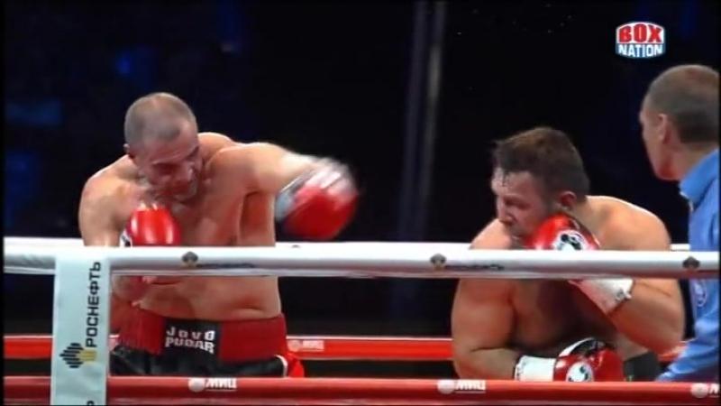 2013-10-05 Ruslan Chagaev vs Jovo Pudar (vacant WBA Continental PABA Heavyweight Titles)