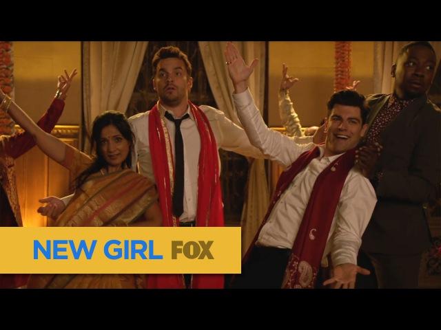 Schmidt Performs An Indian Dance | Season 5 Ep. 1 | NEW GIRL