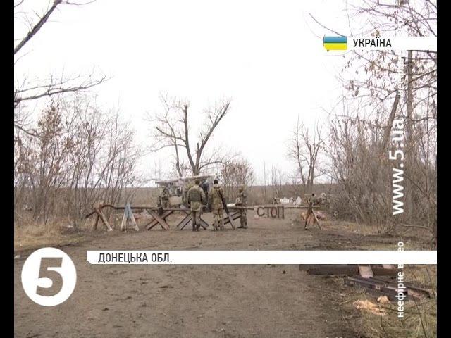 Бійці ЗСУ почали облаштовувати бліндаж поблизу Комінтернового