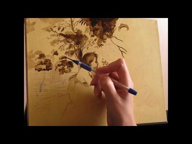 Уроки живописи маслом. Часть 1. Копия Рубенса. Фламандская техника живописи.