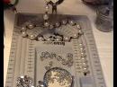 How to make a stunning pearl necklace 3как делать жемчужные бусы