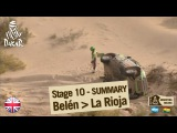Stage 10 Summary - Car/Bike - (Belen / La Rioja)