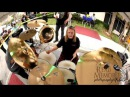 NICKO MCBRAIN WARMING UP TUNING DRUMS MIC CHECK  IN HD