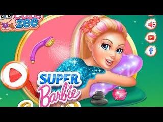 NEW Игры для детей—Disney Принцесса Супер барби Спа день—Мультик Онлайн видео игры для девочек