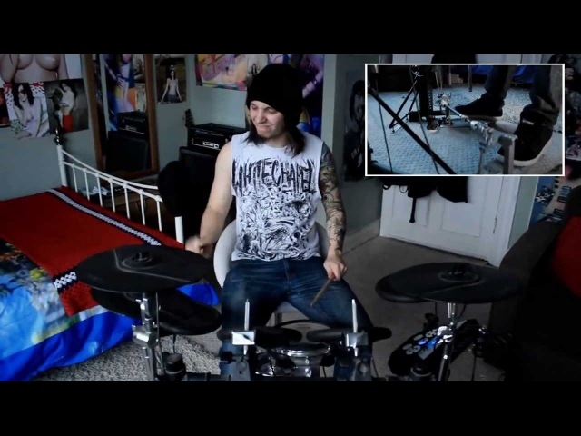 Aaron Kitcher Infant Annihilator) Decapitation Fornication Drum Play through [OFFICIAL] [HD]