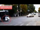 Видео с регистратора - Нефаз сбил ребенка в Уфе