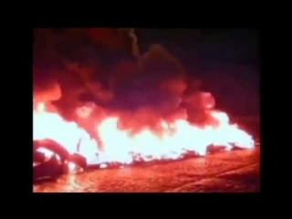 24.02.14. Майдан распространился на Санкт Петербург! Площадь Питера в огне