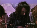 Tiny Tim backstage at the 1970 Isle of Wight Festival
