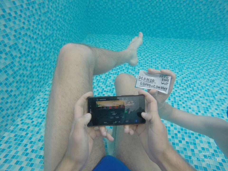 Танкуем по полному)под водой и танки ездяТ!!!