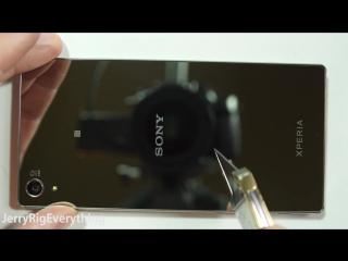 Sony Xperia Z5 Premium - Сгибаем, Царапаем, Поджигаем - ТЕСТИРУЕМ!