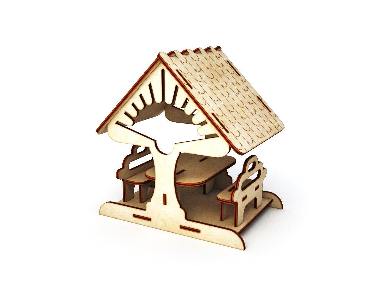 Кукольный домик своими руками из фанеры схема : с размерами чертеж для 3