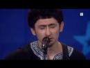Уйгур на шоу голос в  Норвегии