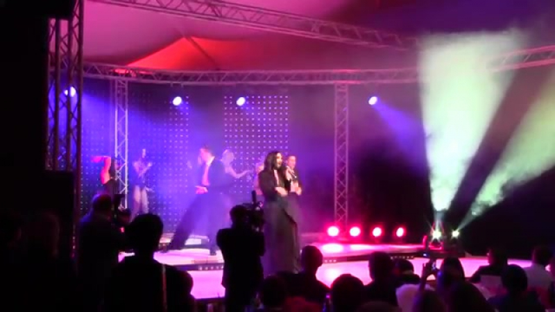 Conchita auf der Winners Party in Kulm
