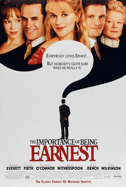 the importance of being ernest setting The characters and plot summary of 'the importance of being earnest' play the story ends with all the loose ends tied up and everyone set to live happily.