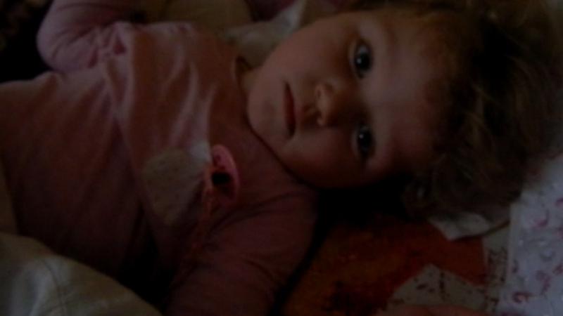 Здоровые детки встают довольные после хорошего сна , А наша Сонечка с постоянными приступами и болью......