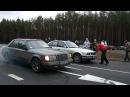 BMW 520i E34 vs. Mercedes E230 W124