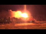 locomotiva pegando fogo