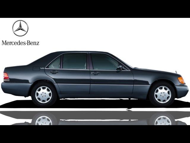 ᴴᴰ 1991 Mercedes Benz 600SEL W V140 sedans
