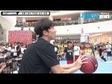 [Z현장영상] 하하&광수 무모한 농구 대결 (adidas 크레이지코트 2015 농구대회 파이&