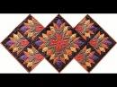 Cleopatra's Fan quilt video by Shar Jorgenson